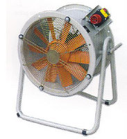 Axial tube fan on stand   HTM