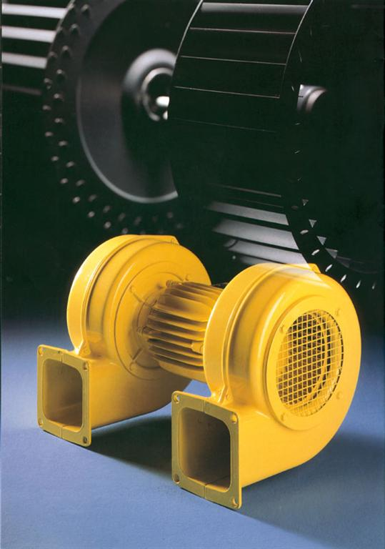 Low pressure blower twin model D0